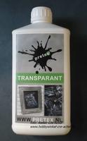 Pretex Transparant 1 liter (vernieuwde verpakking)