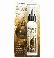 DecoArt Ornament glitter adhesive 59ml/2oz