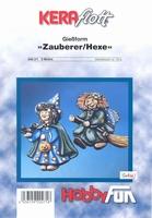 Gietvorm Hobbyfun 2000271 Heks en tovenaar