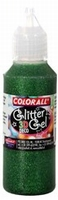 Collall/Colorall 3D Deco Glittergel DG105 Groen (grote fles) 500 ml