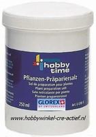 HobbyTime 647010 Pflanzen praepariersalz/prepareerzout 250ml pot