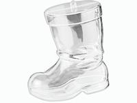 Transparante acryl vorm: Kerstlaars KP216917984 10cm