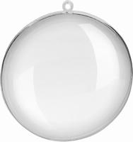 Transparante acryl Medaillon 9cm 216918239