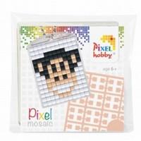 Pixelhobby medaillon startset: 23005 Aap