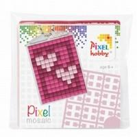 Pixelhobby 23018 medaillon startset Hartjes
