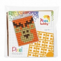 Pixelhobby 23003 medaillon startset Hert