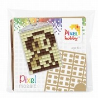 Pixelhobby 23017 medaillon startset Hondje
