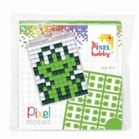 Pixelhobby 23011 medaillon startset Kikker