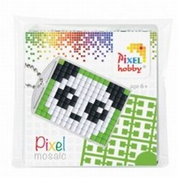 Pixelhobby medaillon startset: 23004 Panda