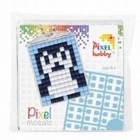 Pixelhobby medaillon startset: 23012 Pinguin