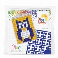 Pixelhobby medaillon startset: 23006 Uil