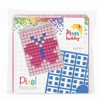Pixelhobby 23009 medaillon startset Vlinder