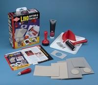 Lino cutting & printing startset Essdee 340801_4090 complete set