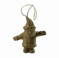 Decopatch NO023 Papier mache kersthangertje Kerstman
