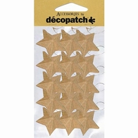 Decopatch AC355 Papier mache sterretjes set 15stuks 4cm