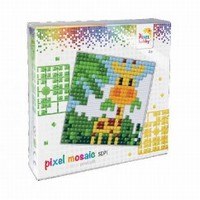 Pixel XL set 41001 Baby giraffe
