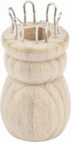 Knorr Prandell houten Punnikklosje 6 haken 80578-69 35x60mm