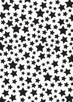 Nellie's Choice Mixed Media Stencil NMMS008 Stars