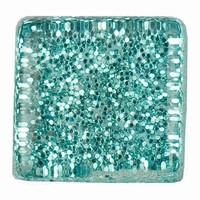 Glittermozaiek Soft Glas Aqua RD-7060.505 10mm/ca200stuks
