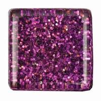 Glittermozaiek Soft Glas Violett RD-7060.495 10mm/ca200stuks