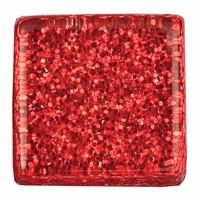 Glittermozaiek Soft Glas Rot RD-7060.485 10mm/ca200stuks