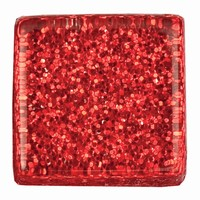 Glittermozaiek Soft Glas Rot RD-7060.485