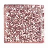 Glittermozaiek Soft Glas Rosa RD7060.480 10mm/ca200stuks