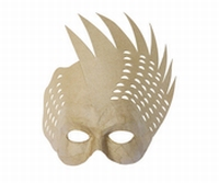 Decopatch papier mache masker: AC3110 Bird mask