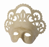 Decopatch papier mache masker: AC3150 Queen