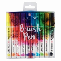 Talens Ecoline Brush pen set 11509002 set van 10 stuks