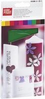 Kaarsen wasplaat KP8301092 17,5x8cm assorti set