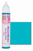 Nellie's Mixed Media Acrylic paint MMAP006 Satijn Turquoise