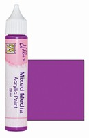 Nellie's Mixed Media Acrylic paint MMAP004 Satijn Fuchsia
