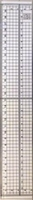 Nellie's Chouce Cutting Ruler snijlineaal 21494H  30cm