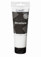 Creall acrylverf medium: 40037 Structuurpaste grof (coarse) 250ml tube