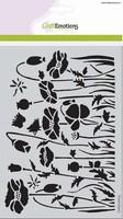 Mask Stencil CE185070_1233 Poppie fields