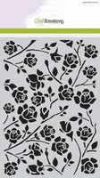 Mask Stencil CE185070_1010 Botanical roses