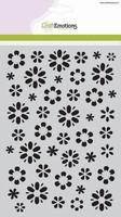 Mask Stencil CE185070_1105 Fantasie bloem A5 (20x15cm)