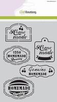 Mask Stencil CE185070_1020 Fifties Kitchen label A5 (20x15cm)