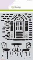 Mask Stencil CE185070_1092 Muur en Bistro