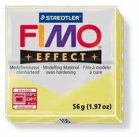 Fimo Soft effect Gemstone 8020-0106 Citron-Lemon green 57 gram