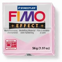 Fimo Soft effect Gemstone 206 Rose Quarz
