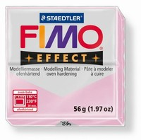 Fimo Soft 206 effect Gemstone Rose Quarz