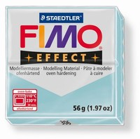 Fimo Soft 306 effect Gemstone Blue Ice quarz