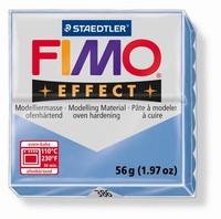 Fimo Soft effect Gemstone 8020-0386 Agate Blue 57 gram