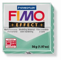 Fimo Soft 506 effect Gemstone Jade green