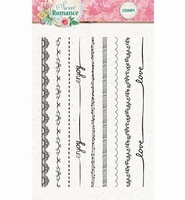 Clearstamp Studio Light STAMPS130 Sweet Romance  A6