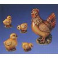Gietvorm HobbyFun 2003004 Kip met kuikens