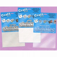Krimpfolie Wit Craft Pack Shrink Plastic ZMT001/W 26x20cm/ 6vel