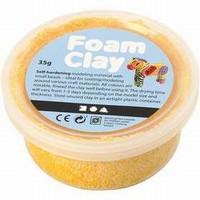 Foam Clay Creotime78924 Donker Geel/Oranje